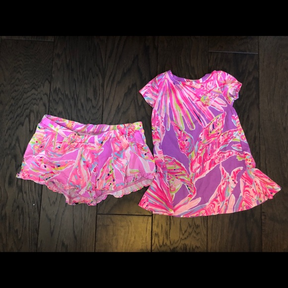 6a51244073087a Lilly Pulitzer Pants - LILLY PULITZER MOMMY AND ME SHORTS AND DRESS SET